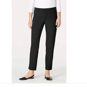NWT J.Jill Essential Slim Ankle Pant, 2P, Black